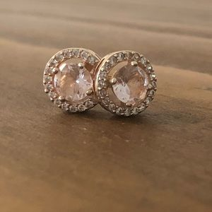 Blush and Rose Gold Studs